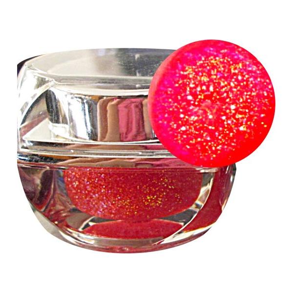 Gel Unghii Coral Glitter