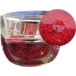 Gel Unghii Metallic Red