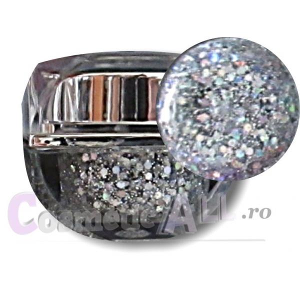 Gel Silver Glitter Extra