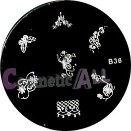 Matrita Stampila Unghii B36