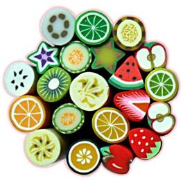 Batoane Fimo Fructe 10buc