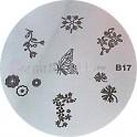 Matrita Stampila Unghii B17