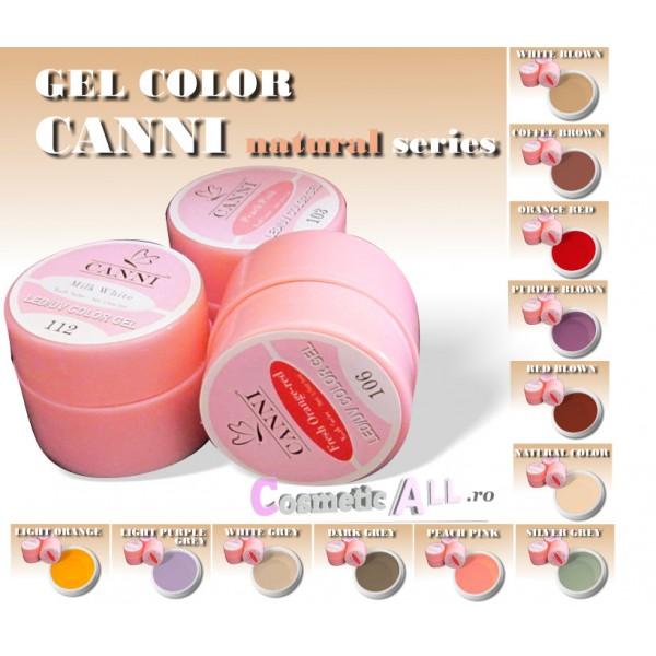 Gel Color CANNI Natural Series
