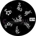 Matrita Stampila Unghii B76