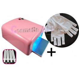 Lampa UV 36W + Manusi Protectie UV