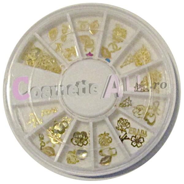 Decoratiuni Paiete Aurii pentru Unghii