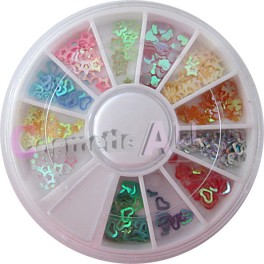 Decoratiuni Paiete Multicolore pentru Unghii