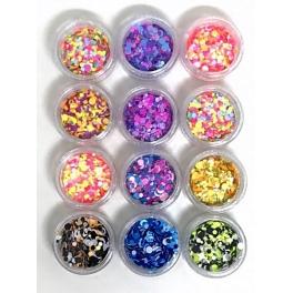 Confetti pentru unghii J1203
