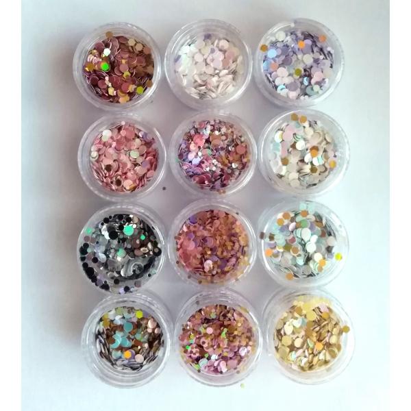 Confetti pentru unghii J1204
