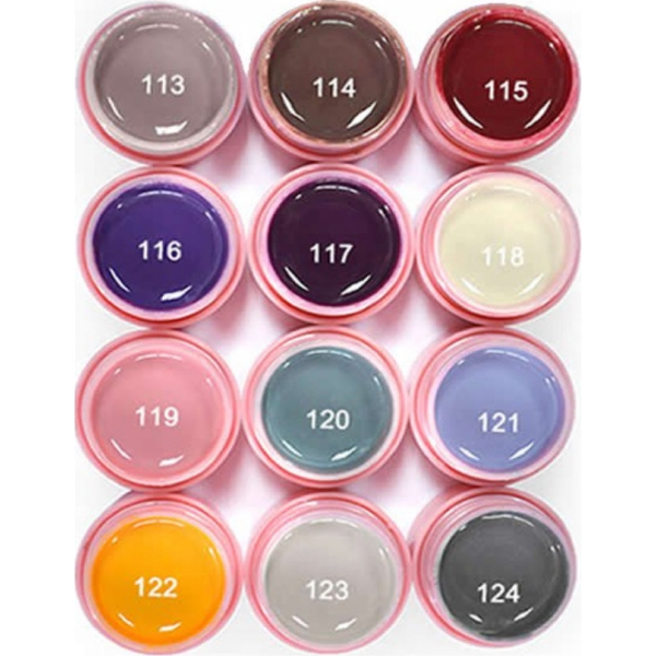 Set 12 Geluri Color CANNI Natural Series
